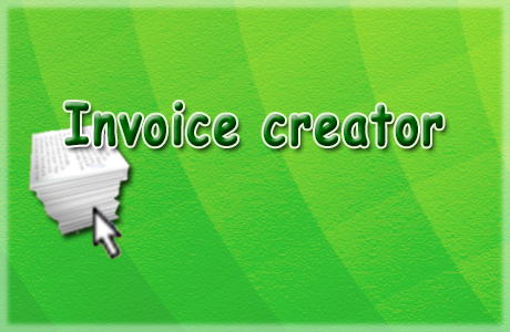 "Screenshots from ""Invoice creator"""